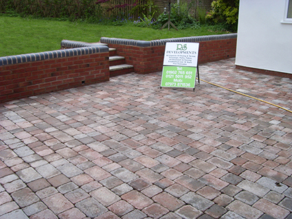 Block paving and walling Wolverhampton