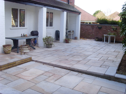 Indian Sandstone Paving Wolverhampton