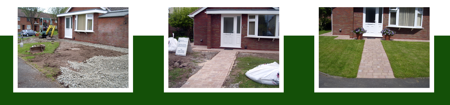 Block Paving Wolverhampton RS Devel